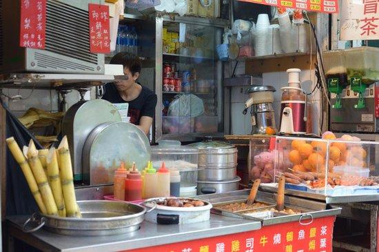 Yaumatei : Street food