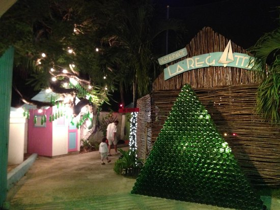 Restaurante La Regatta : detalhe da entrada