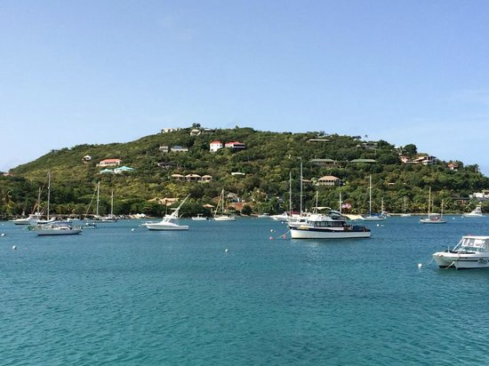 The Westin St. John Resort: Great Cruz Bay - the view from the Westin ferry