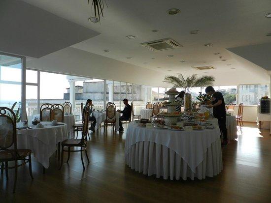 Hotel Regina Sorrento : Ristorante panoramico