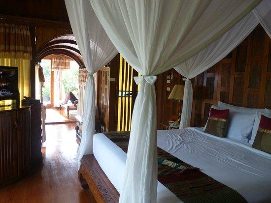 Santhiya Koh Phangan Resort & Spa : vue de la chambre