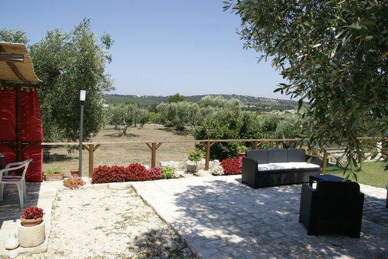 Casa Relax Isabelle : Vue du jardin