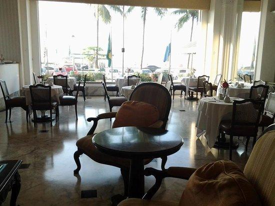 Olinda Rio Hotel: vista del hotel a la playa