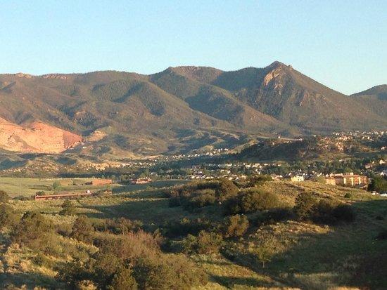 Colorado Springs Marriott: View from room