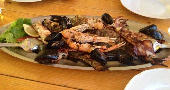 Konoba Mlinice: Misto pesce grigliato