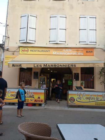 Cafe des Marronniers