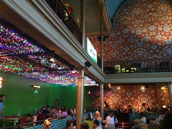 Bazar: Electric Lights and Colorful Tiles
