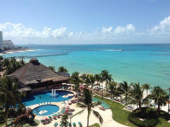 Grand Fiesta Americana Coral Beach Cancun: View from room