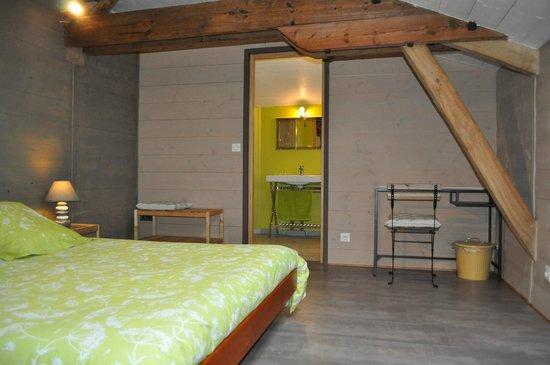 Lot-et-Garonne, Francia: Chambre double