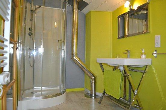 Lot-et-Garonne, Francia: Salle de bain