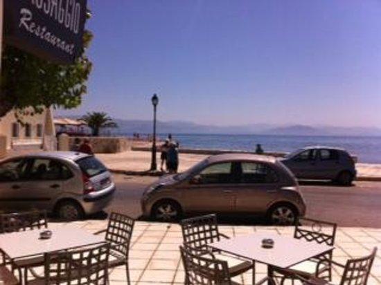 "Mayor Mon Repos Palace 'Art Hotel"": sea view from hotel restaurant"