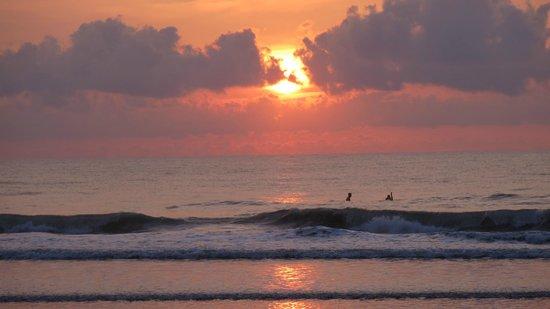 South Beach Inn : levé de soleil