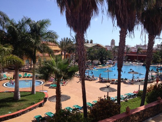 Oasis Village : View from room 2101