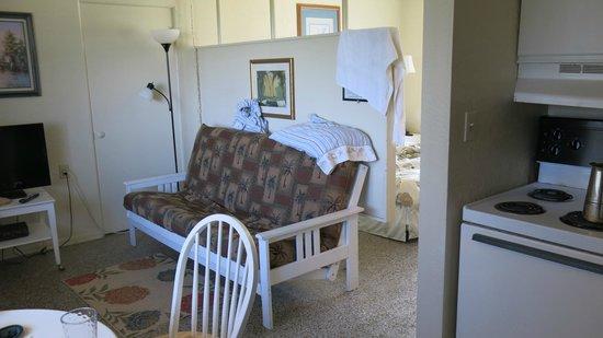 South Beach Inn: espace salon