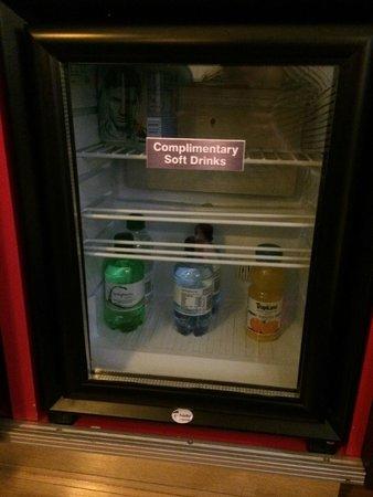 Hotel Indigo London-Paddington: Complimentary drinks