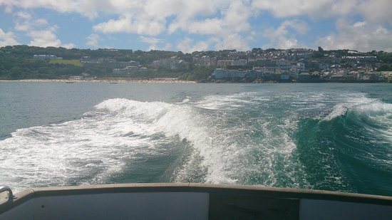 St Ives Boats: Back of the boat