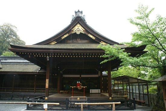 Fushimi Inari-Taisha: Um dos pavilhões do santuário