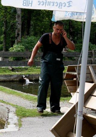 Herzogliche Fischzucht: Fischboss Christoph