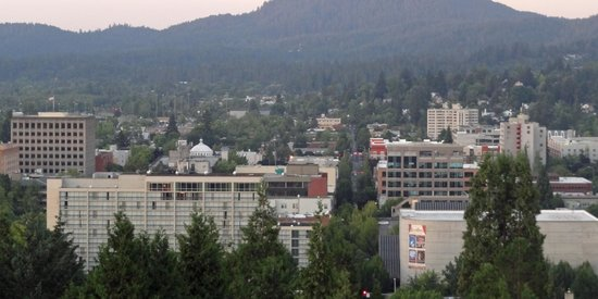 Hilton Eugene: View from Spencers Butte