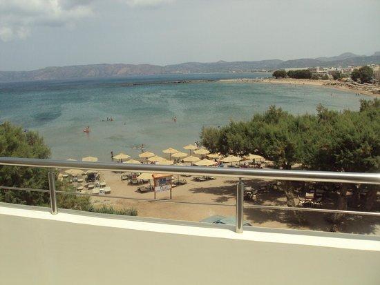 Molos Bay Hotel: Vista-mare dalla terrazza di suite del MolosBay