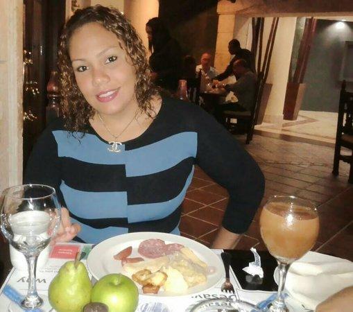 Hodelpa Gran Almirante Hotel & Casino: muy variado desayuno bufet, excelente todo