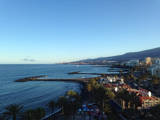 Sol Tenerife: Вид с балкона номера отелч