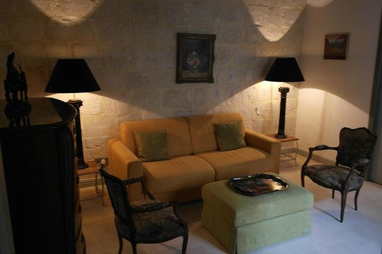 Palazzo Prince D'Orange Luxury Suites: Living room Alexander suite