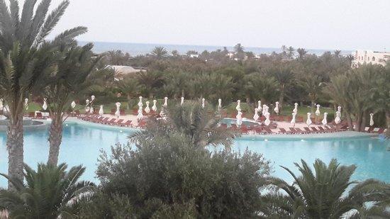 Hotel Riu Palace Royal Garden: Vu de la chambre