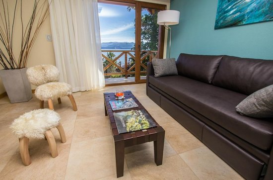 Los Robles Apart & Spa: Living Room