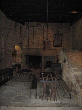 Château de Beynac : Les cuisines