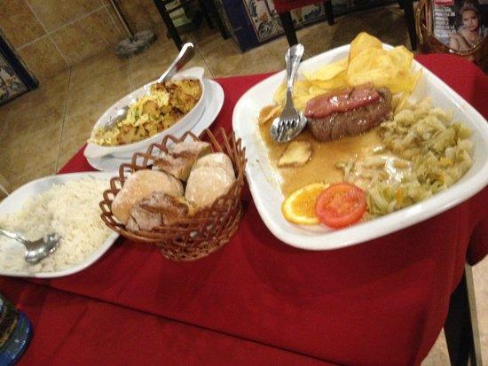 Restaurante Abadia Do Porto: Plats
