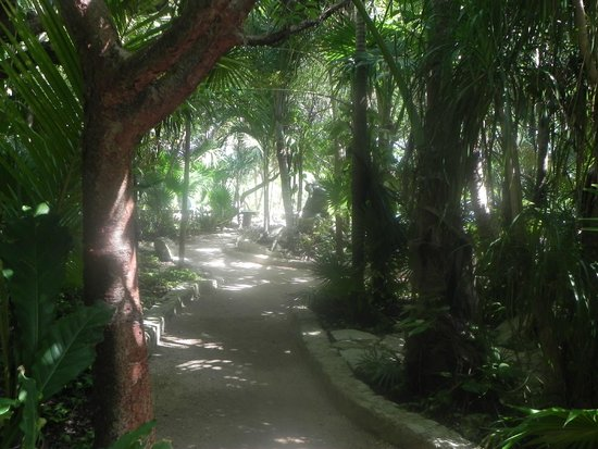 Yal-ku Lagoon: Paseo interior