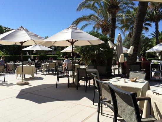 PortBlue Club Pollentia Resort & Spa : Frühstücksterrasse