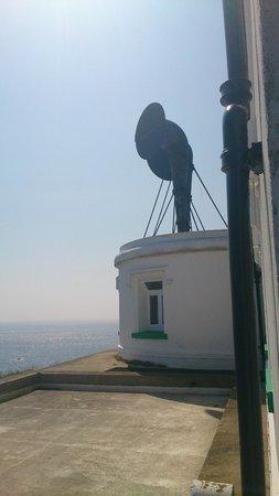 Lizard Lighthouse Heritage Center: The fog horns.