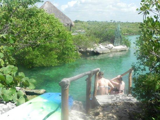 Yal-ku Lagoon: vista de la caleta