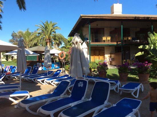 PortBlue Club Pollentia Resort & Spa : Blick auf die Villas