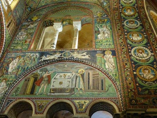 Basilica San Vitale: Détail d'une des fresques
