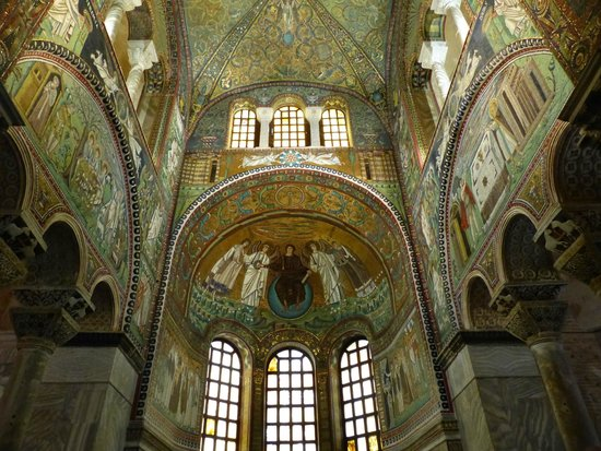 Basilica San Vitale: Les fresques du choeur