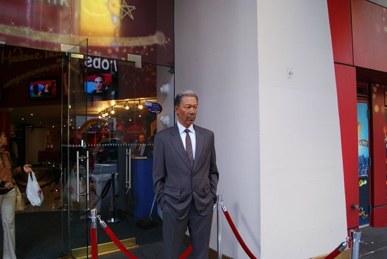 Madame Tussauds New York : Sr. Morgan Freeman