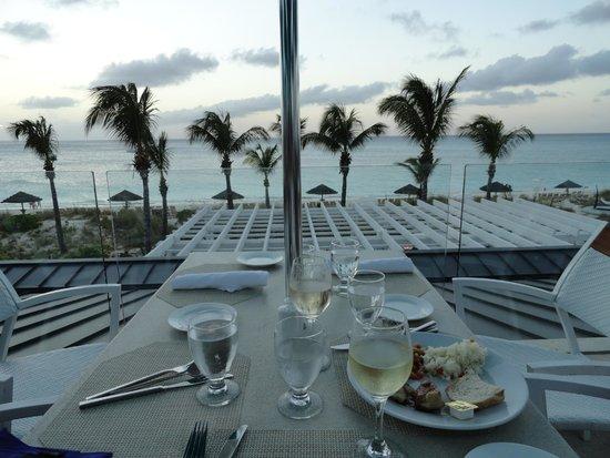 Beaches Turks & Caicos Resort Villages & Spa: Dinner view!!
