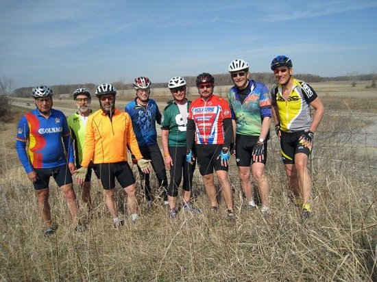 Silver Grill Dining: This group biked all the way from Stony Creek Park to have lunch at the Silver Grill