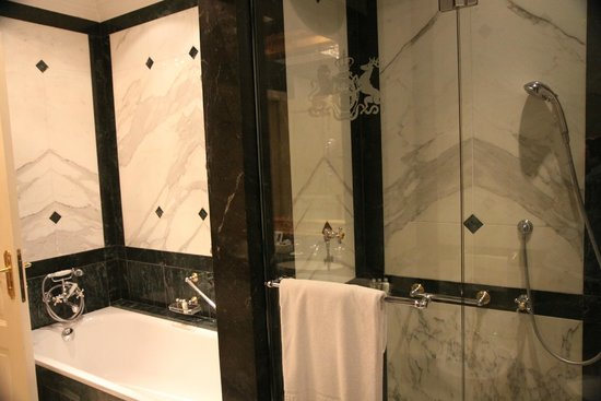 Hotel Imperial Vienna: Shower and bath