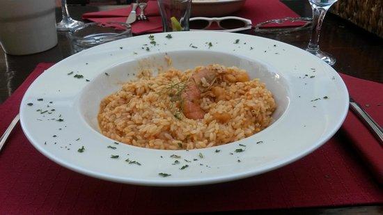 Konoba Dalmatino : Risotto with shrimps