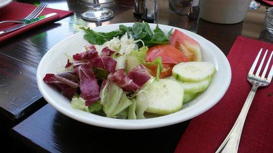 Konoba Dalmatino : Mixed salad a sidedish