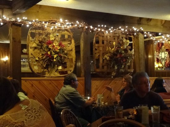 Peddler Steak House: Views inside the restaurant.