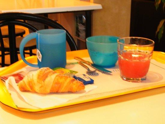 Ostello di Bergamo: Frühstück