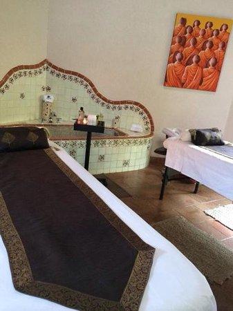 La Buena Vibra Retreat & Spa: masaje en parejas