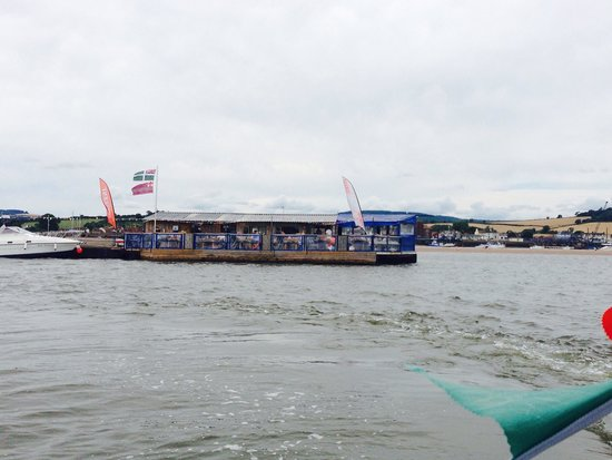 River Exe Cafe: From the water taxi