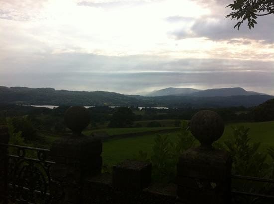 YHA Windermere: view from the terrace.