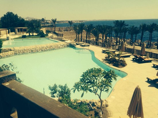 The Grand Hotel Sharm El Sheikh: View from our suite